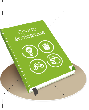 Publish an ecological charter on your website