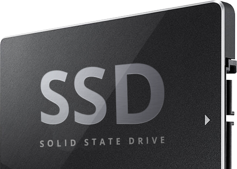100% SSD Web Hosting for all our clients