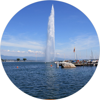 Located in Geneva, Switzerland, in the heart of Europe