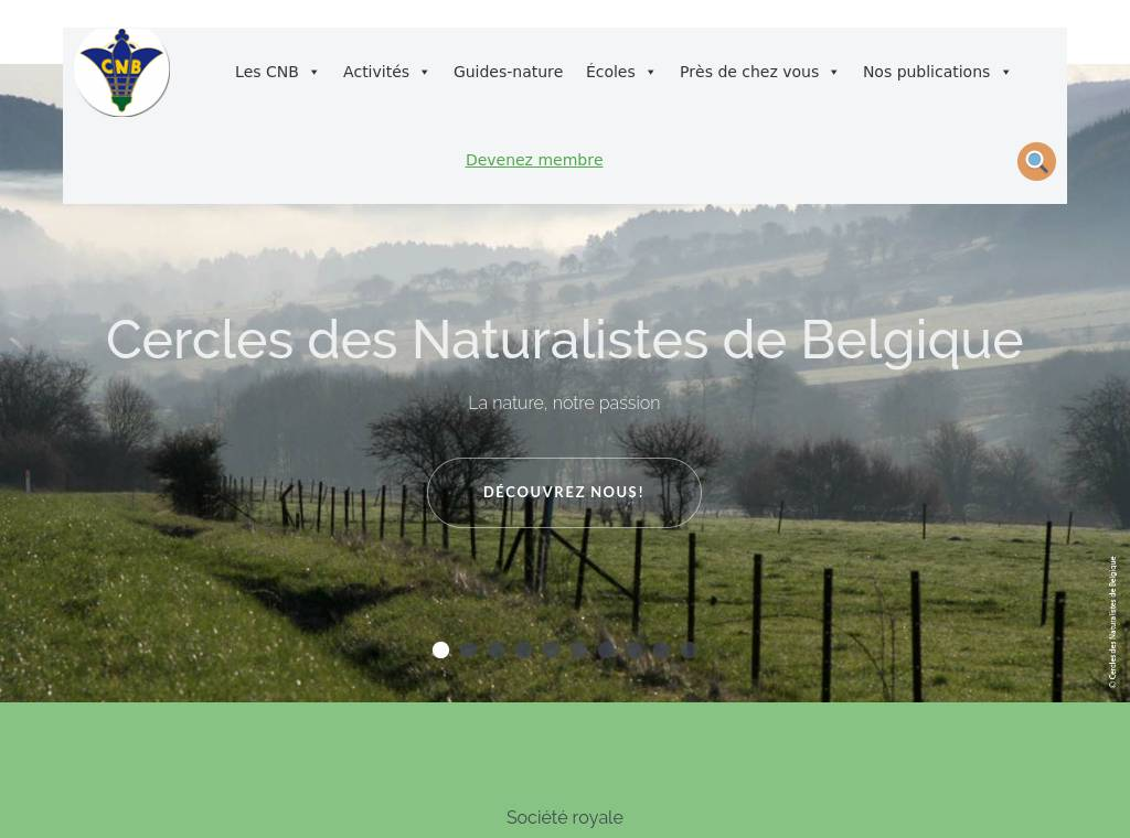 http://www.cercles-naturalistes.be
