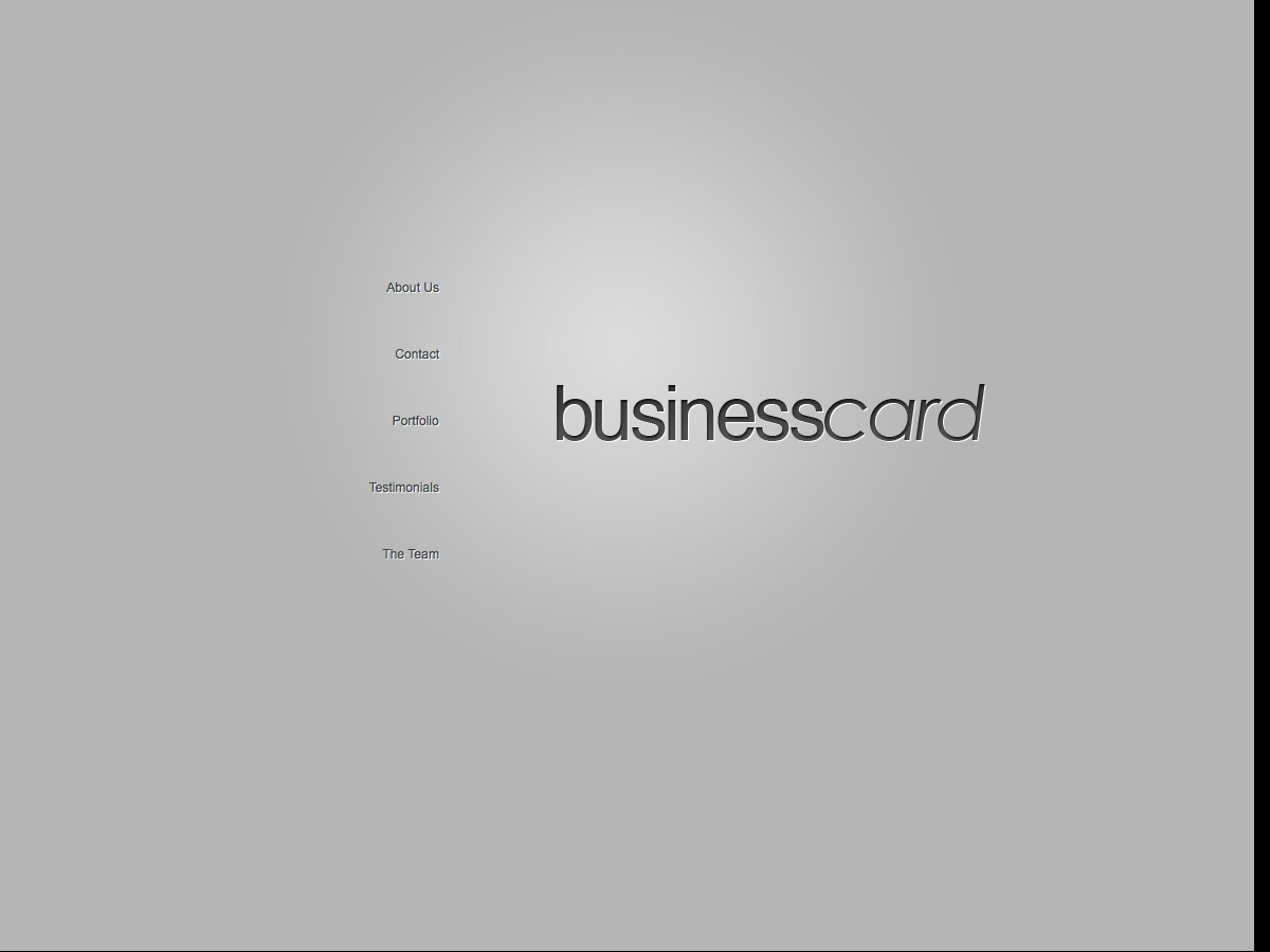 Unsere WordPress-Themes - BusinessCard