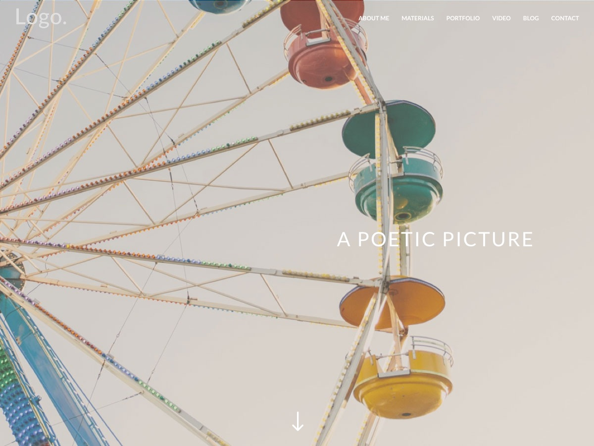 Nuestros temas WordPress - Divi photography