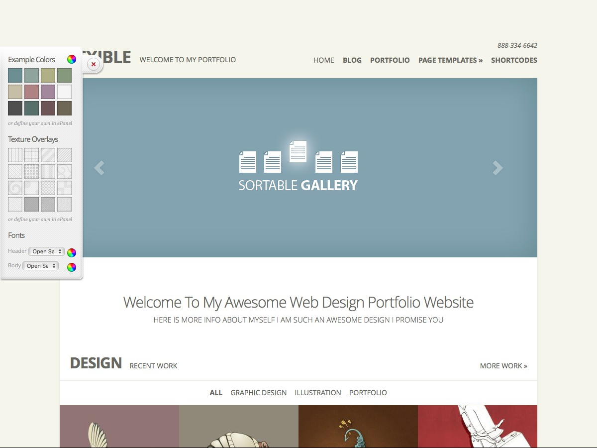 I nostri temi Wordpress - Flexible