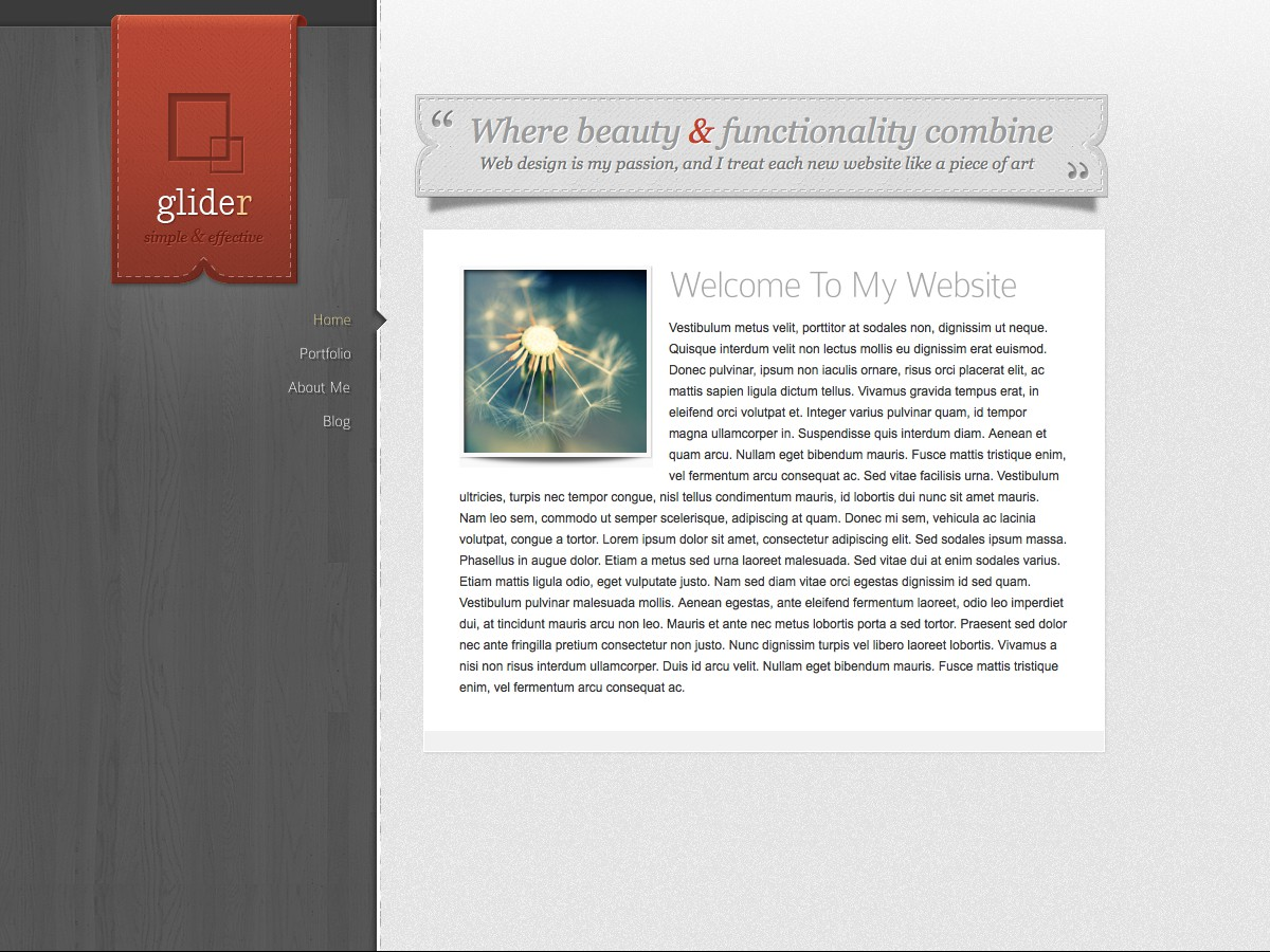 I nostri temi Wordpress - Glider