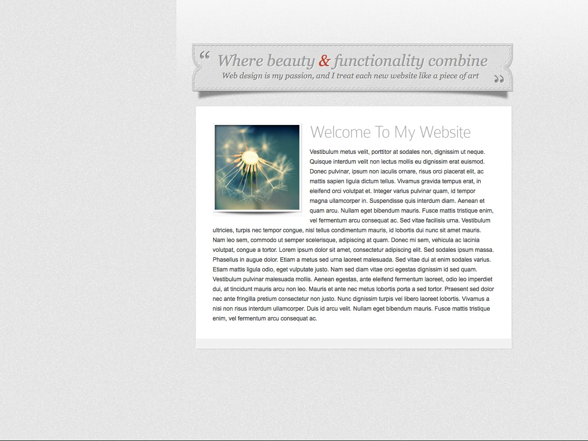 Unsere WordPress-Themes - Glider