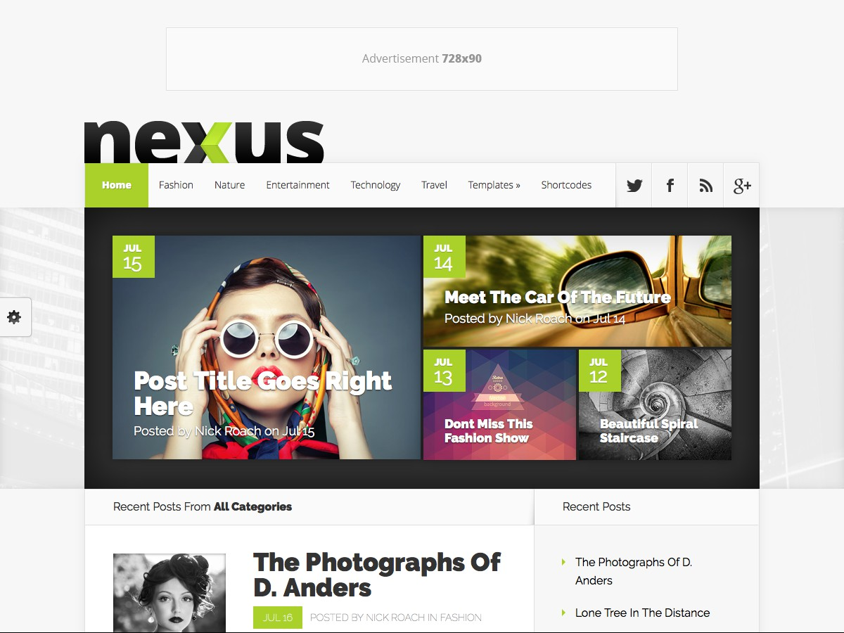Unsere WordPress-Themes - Nexus