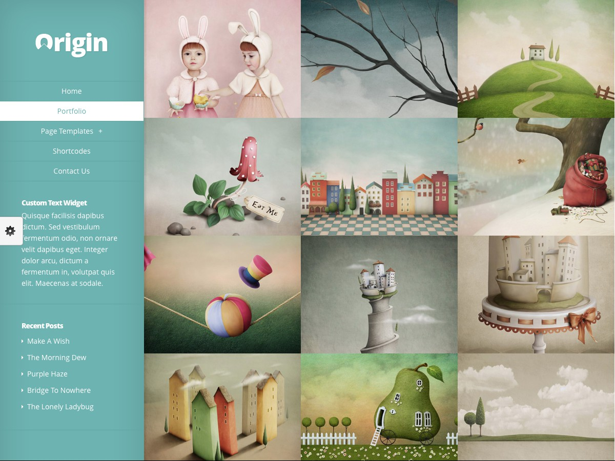 Unsere WordPress-Themes - Origin