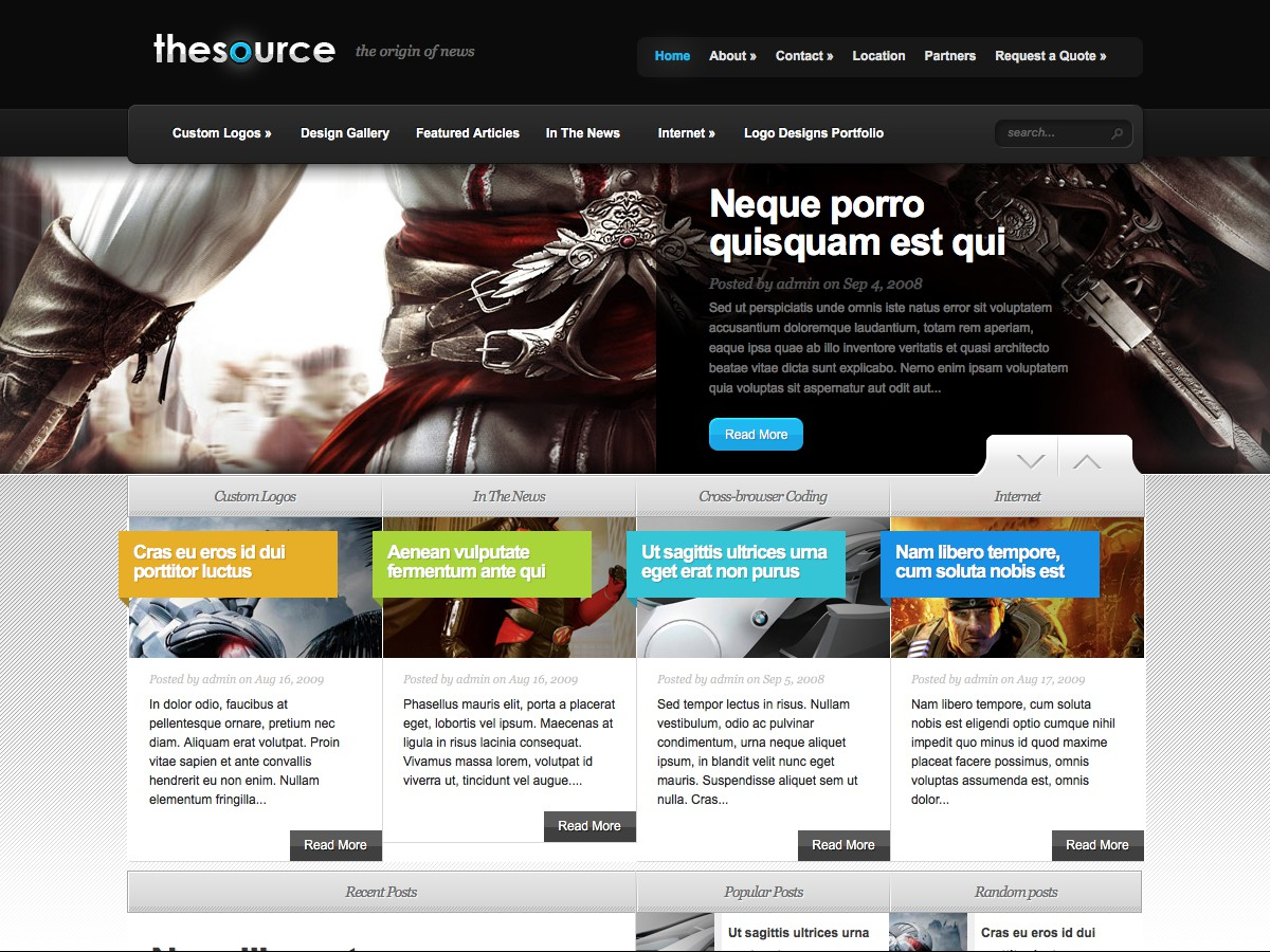 Unsere WordPress-Themes - TheSource