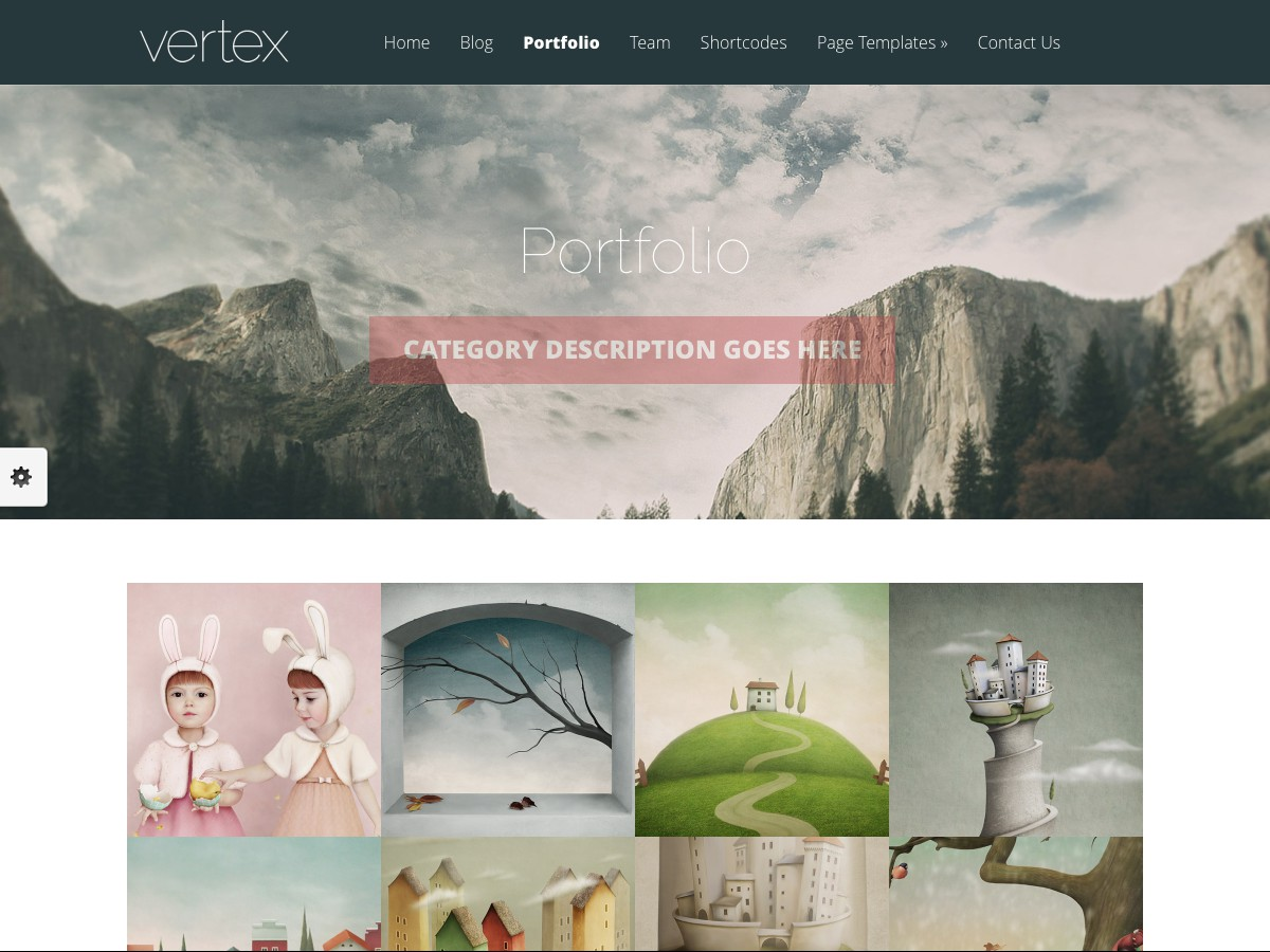 Our WordPress themes - Vertex