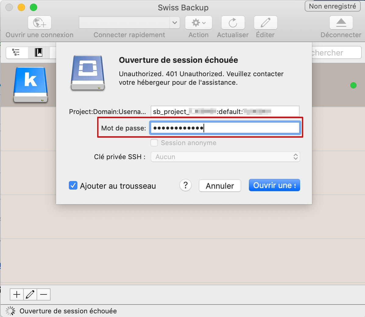 Swiss Backup - Infomaniak